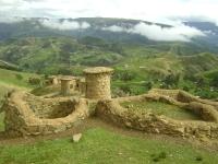 Another choice to make tourism in Cuso, The Chullpas of Ninamarca