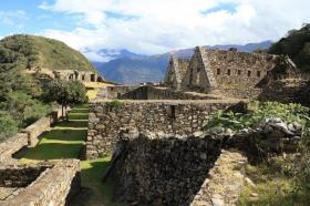 Choquequirao:  A jewel ruins of the incas into the clouds and forest