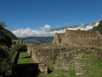 Choquequirao as one of the last Inca archaeological complexes