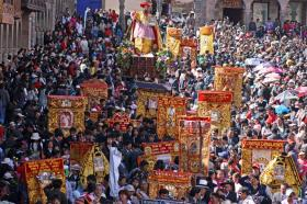 Corpus Christi on May 25th & 26th in Cusco city