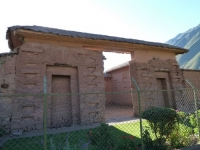 Cusco: Pre-columbian structures in sacred valley - Yucay