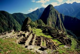 Machu Picchu in google street view at 360 degrees