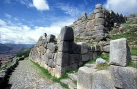 New aqueducts Incas in Sacsayhuaman - Cusco