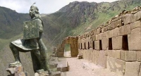 Ollantaytambo the last Inca stronghold against the Spanish Conquistadors