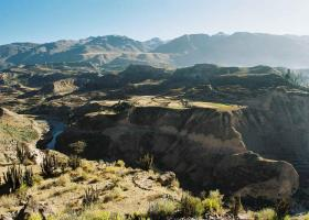 Peru Land: Colca Canyon as the second deepest canyon of the world