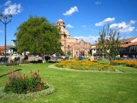 The beauty of Cusco main square