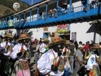 Virgen del Carmen festivity in Cusco from 15th to 17th July